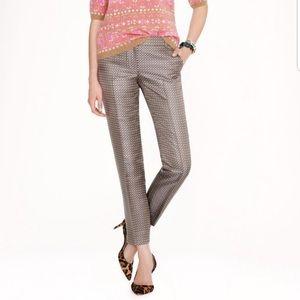 J. Crew Collection 100% Silk Cafe Capri Pants